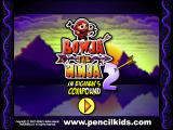 Bowja the Ninja 2: In Bigman's Compound Browser Title screen