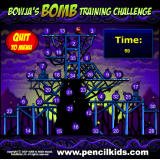 Bowja the Ninja 2: In Bigman's Compound Browser Playing the bonus game: disable the bombs in the correct order.