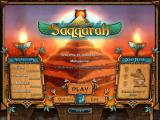 Ancient Quest of Saqqarah Windows Main menu