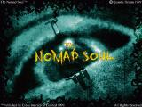 "Title screen. Note that the title of the UK version is just ""The Nomad Soul"", without ""Omikron"""
