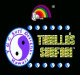 Town & Country Surf Designs II: Thrilla's Surfari NES Title screen