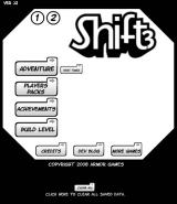 Shift 3 Browser Main menu