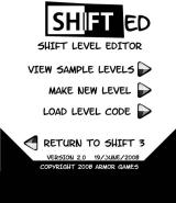 Shift 3 Browser The Shifted level editor