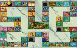 Asterix: Caesar's Challenge DOS An overview of the board