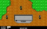 Metal Gear DOS Hide behind objects then sneak up on the enemy (EGA/Tandy)