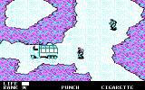 Metal Gear DOS A truck being guarded (CGA)