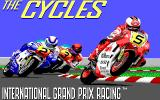 The Cycles: International Grand Prix Racing Amiga Title screen