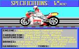 The Cycles: International Grand Prix Racing Amiga Bike Selection