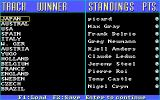 The Cycles: International Grand Prix Racing Amiga Standings listing