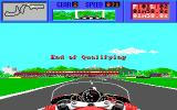 The Cycles: International Grand Prix Racing Amiga End of Qualifying