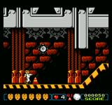The Incredible Crash Dummies NES Avoid running into the bouncing tires