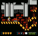 The Incredible Crash Dummies NES If this enemy makes contact, the Crash Dummy will go spinning backwards through the level