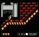 The Incredible Crash Dummies NES Collect the cones for extra points