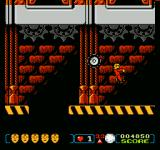 The Incredible Crash Dummies NES The suit turns red when the balloon powerup is active
