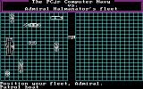 Sea Hunt  DOS Placing The Player's Ships
