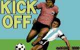 Kick Off Commodore 64 Loading screen