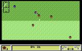 Kick Off 2 Commodore 64 My opponent is attacking