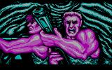 Super Contra DOS The opening sequence (CGA)