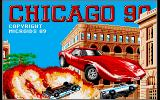 Chicago 90 Amiga Title screen