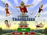 The Flying Trapeezees Windows Title screen