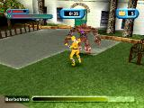 Saban's Power Rangers: Time Force PlayStation Oh no! It's Barbatron!