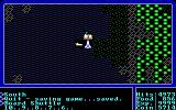 Ultima I: The First Age of Darkness DOS Counting down to blastoff.