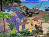 "Scholastic's The Magic School Bus Explores in the Age of Dinosaurs Windows In the Jurassic period, Dorothy Ann calls the Allosaurus the ""king of the Jurassic food chain""."