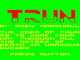 Trun Dragon 32/64 Title screen and instructions