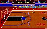 Double Dribble DOS Gameplay (EGA/Tandy)