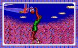Double Dribble DOS Slam dunk closeup (EGA/Tandy)