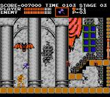Castlevania NES This boss is easily killed if you use axes.