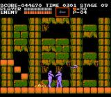 Castlevania NES Killed by mummies.