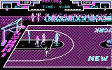 Double Dribble DOS Gameplay (CGA)