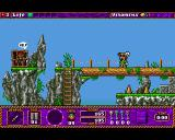 Traps 'n' Treasures Amiga On each level you are required to rescue your imprisoned crew.