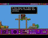Traps 'n' Treasures Amiga Some of your crew have valuable information for you.