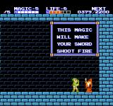 Zelda II: The Adventure of Link NES You can learn  a new magic spell in every village.