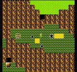 Zelda II: The Adventure of Link NES The second temple can be found in this swamp. The demon and the two slimes represents harder and easier encounters.