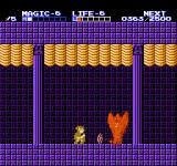 Zelda II: The Adventure of Link NES This horrifying wraith is the guardian of the fourth temple.