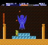 Zelda II: The Adventure of Link NES This was the hardest boss for me, he throws fireballs all over the place.