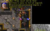 Ultima VII: Forge of Virtue DOS The mage Erethian objects to you trying to banish Exodus' Dark Core