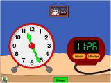 Trudy's Time and Place House Windows The Time Twins; change one clock's time and the other automatically adjusts