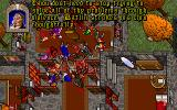 Ultima VII: The Black Gate DOS Batlin states his disapproval of you violent methods. And quite rightly so, you've massacred everyone in Britannia! I guess the Avatar thinks he's playing Fallout
