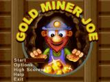 Gold Miner Joe Palm OS Title screen