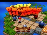 The Bombing Islands PlayStation Title screen