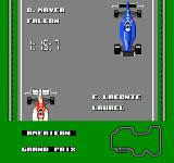 Ferrari Grand Prix Challenge NES The screen scrolls down showing all the qualifying times of the racers