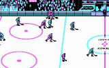 Blades of Steel DOS Gameplay (CGA)