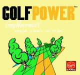 Greg Norman's Golf Power NES Title screen