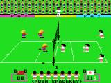 Attack Four VolleyBall MSX Nippon receives