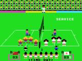 Attack Four VolleyBall MSX Time out