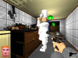 Voxelstein 3D Windows A nazi chef